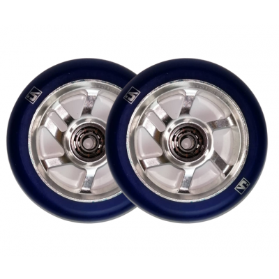 UrbanArtt S7 Scooter  Wheels 100mm  Blue/Chrome