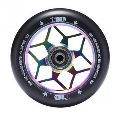 Blunt Diamond Scooter Wheels 110mm (Pair) - Oil Slick