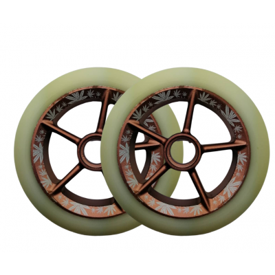 UrbanArtt Le Baron Signature Scooter Wheel 125mm - Copper