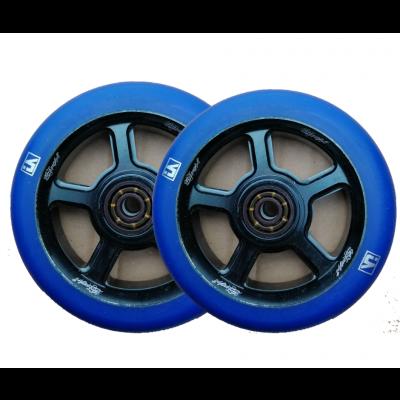 The best looking Urban Artt S5 Scooter Wheels 110mm Blue/Black
