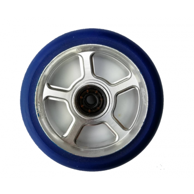 UrbanArtt S5 Scooter Wheel 110mm (Single) - Blue/Chrome