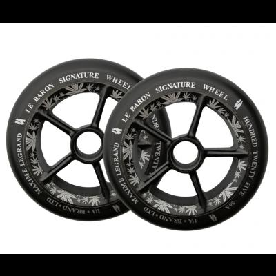 UrbanArtt Le Baron Wheels - 125mm (Black)