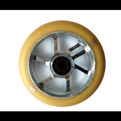 UrbanArtt S7 Scooter Wheel 110mm (Single) - Gold /Silver