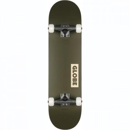 "Globe Goodstock Skateboard 8.25"" - Fatigue Green"