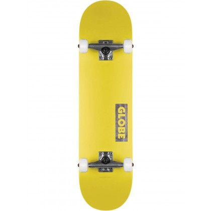 "Globe Goodstock Skateboard 7.75"" - Neon Yellow"