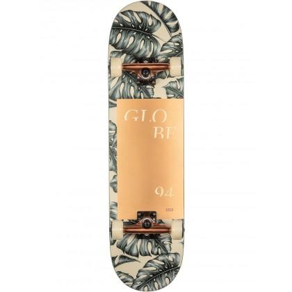 "Globe G2 Mod Log Hurricane Leaves Complete Skateboard - 8.25"""