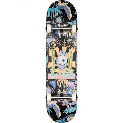 "Globe G1 Stay Tuned Black Complete Skateboard - 8"""