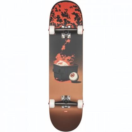 "Globe G2 On the Brink Dumpster Fire Skateboard 8.125"""