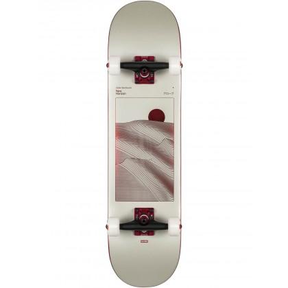 """Globe G2 Parallel Off-White Foil/Horizon Complete Skateboard - 8.0"""""""