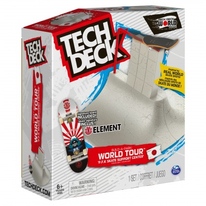 Tech Deck Build a Park World Tour - P.F.K