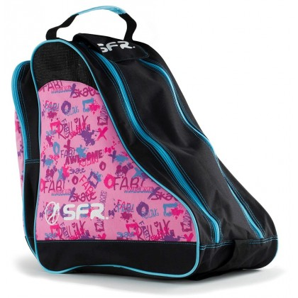 SFR Designer Ice & Skate Bag - Pink Graffiti