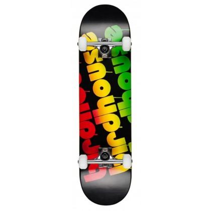 "Birdhouse Stage 1 Triple Stack Complete Skateboard Rasta 8"""