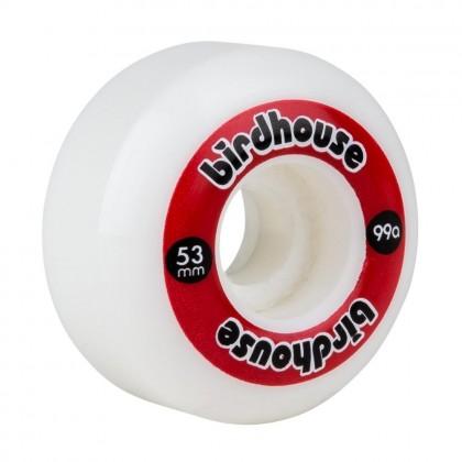 Birdhouse Logo 53mm Skateboard Wheels - Red