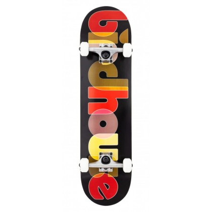"Birdhouse Opacity Logo Complete Skateboard Black - 8"""