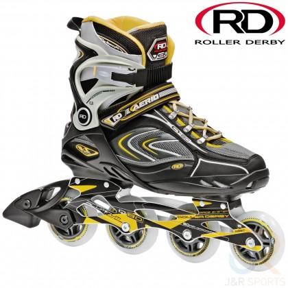 Roller Derby Aerio Q-80 Mens Inline Skates - Black/Yellow