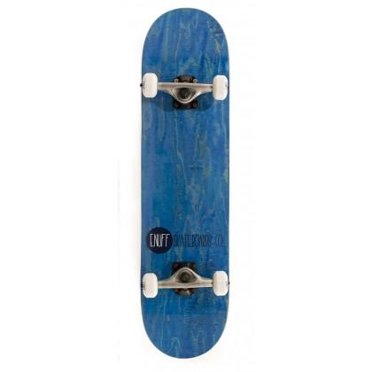 "Enuff Logo Stain Complete Skateboard - Blue 8"""