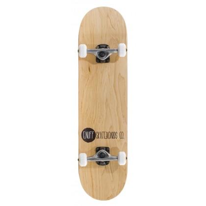 "Enuff Logo Stain Complete Skateboard - Natural 8"""