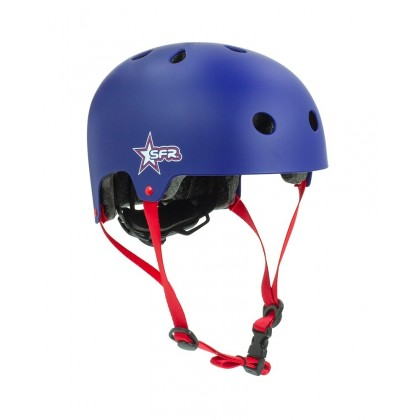 SFR Adjustable Kids Helmet - Blue/Red