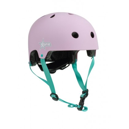 SFR Adjustable Kids Helmet - Pink/Green