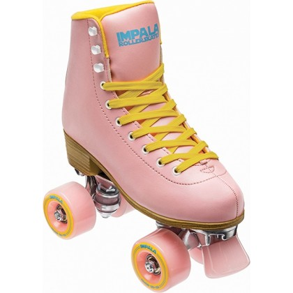 Impala Quad Roller Skate - Pink/Yellow