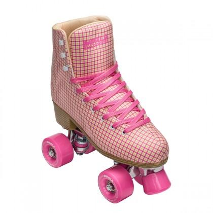 Impala Quad Roller Skate - Pink Tartan