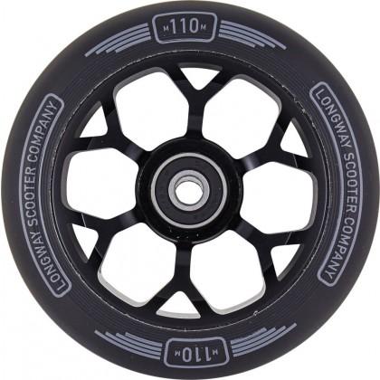 Longway Precinct 110mm Pro Scooter Wheels - Black