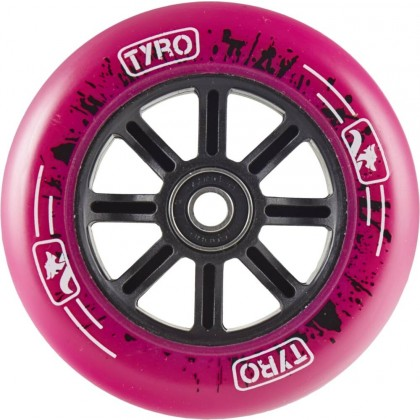 Longway Tyro Nylon Core Pro 100mm Scooter Wheels - Pink