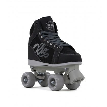 Rio Roller Lumina Quad Skates - Black/Grey