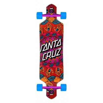 "Santa Cruz Mandala Hand Drop Thru Complete Cruzer - Multi  36"""