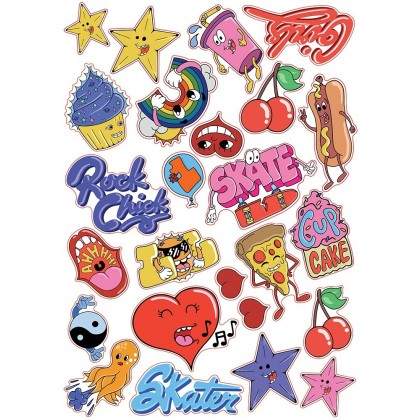 SFR Sticker Sheet - LOVE