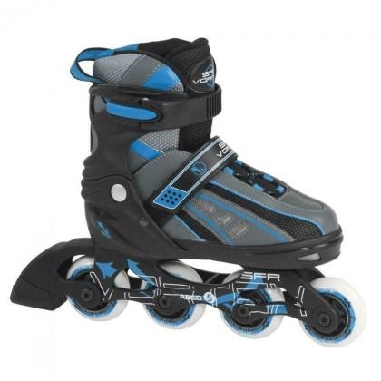 SFR Vortex Kids Adjustable Inline Skate - Blue