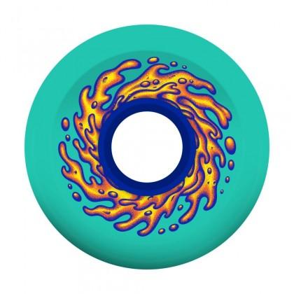 Slime Balls OG Slime Skateboard Wheels 60 mm (Pack of 4) - Green