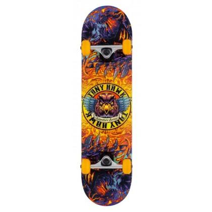 "Tony Hawk SS 360 Lava Complete Skateboard - 7.75"""