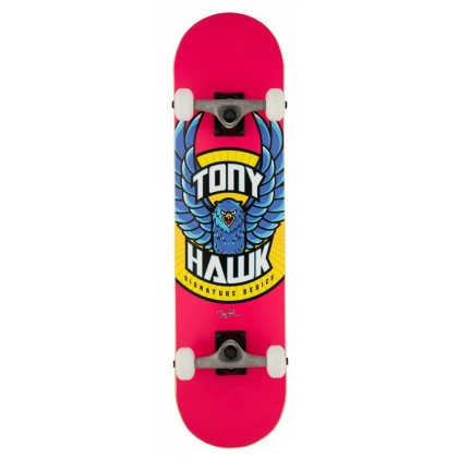 "Tony Hawk SS 180+ Eagle Logo Complete Skateboard 7.75"" - Pink"