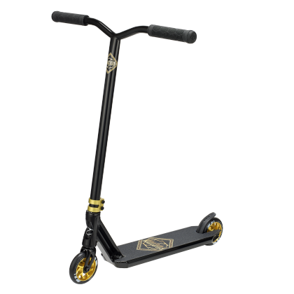 Fuzion Z300 Complete Scooter - Black/Gold