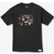 Diamond Inclusion Tee Black